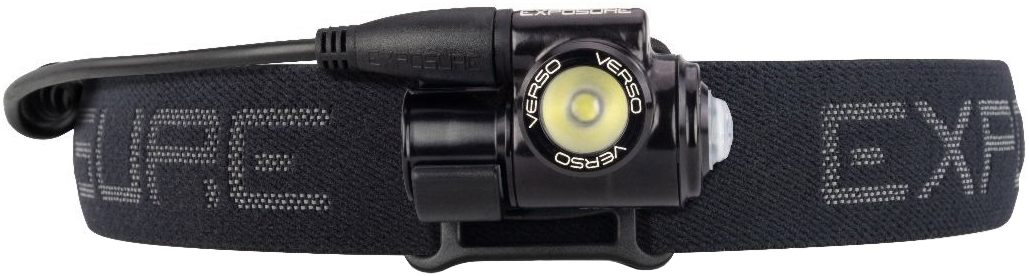 Exposure Verso Mk2 Head Torch With Support Cell 1.7A | Pandelamper
