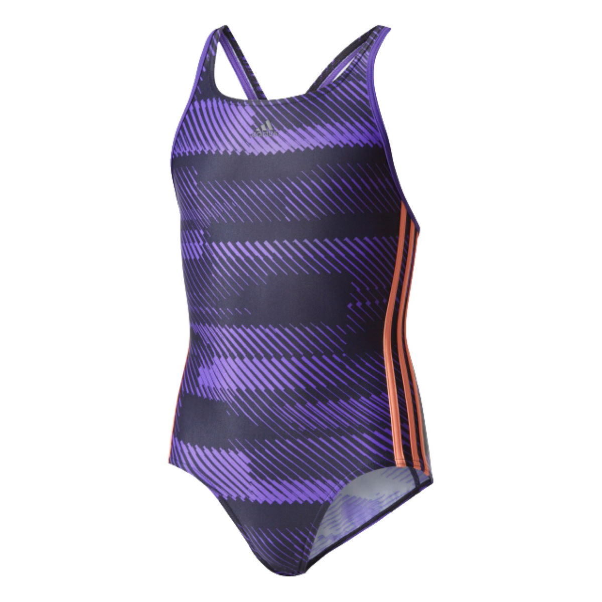 Adidas girl s allover print swimsuit internal sunglow legend ink aw17 bs0279 104cm 0