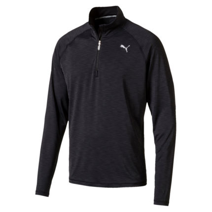 Puma Core Long Sleeve Half Zip Run Top