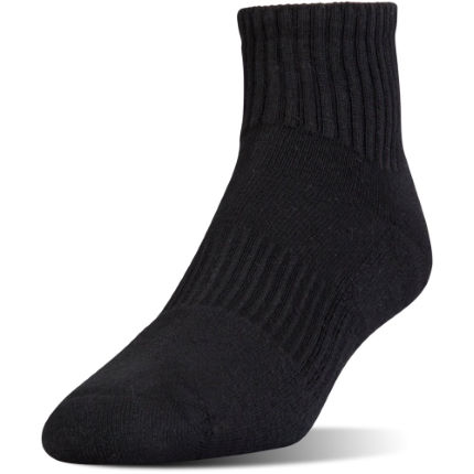 Under Armour Charged Cotton 2 Quarter Sock