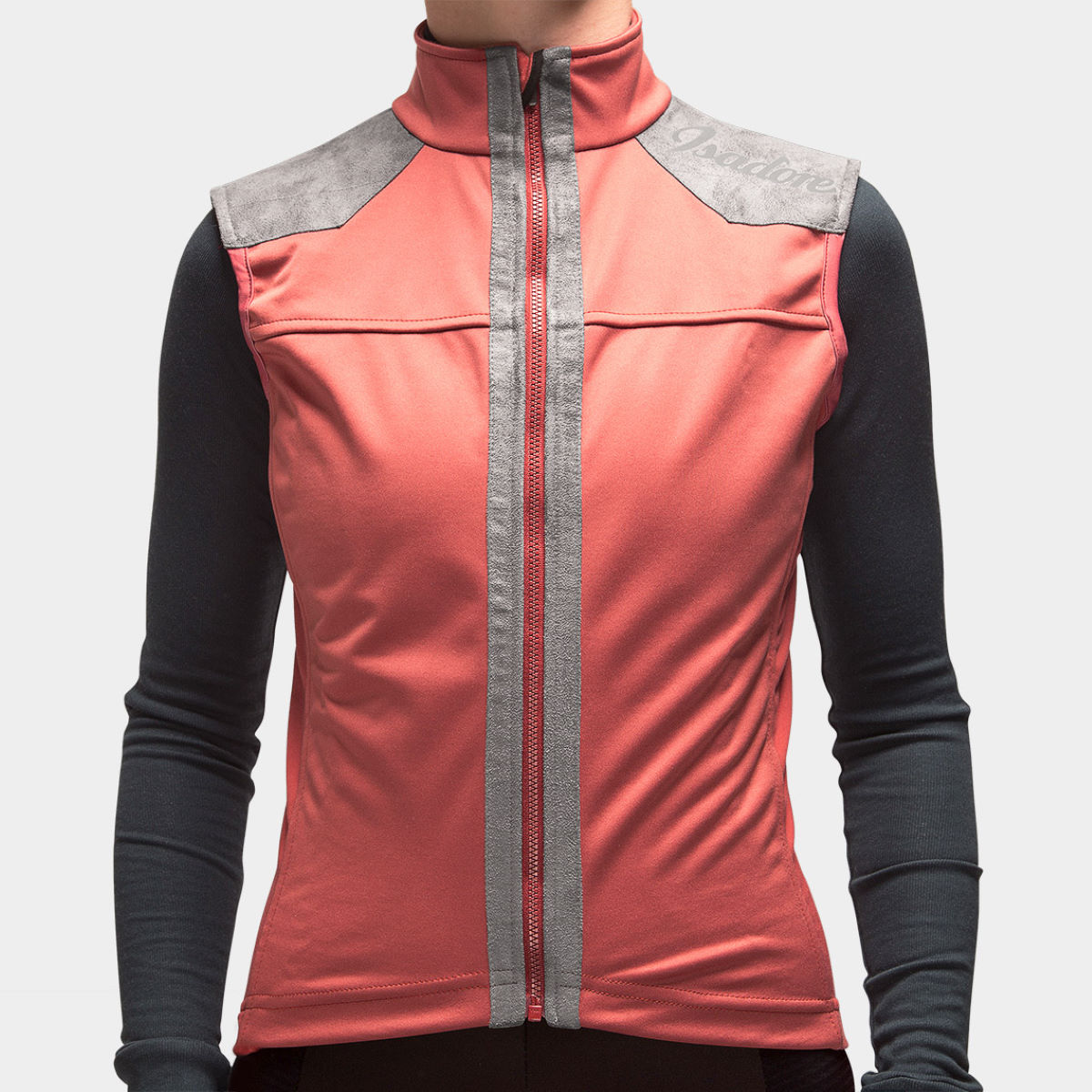 Gilet Femme Isadore Membrane Softshell (sans manches) - L Marsala