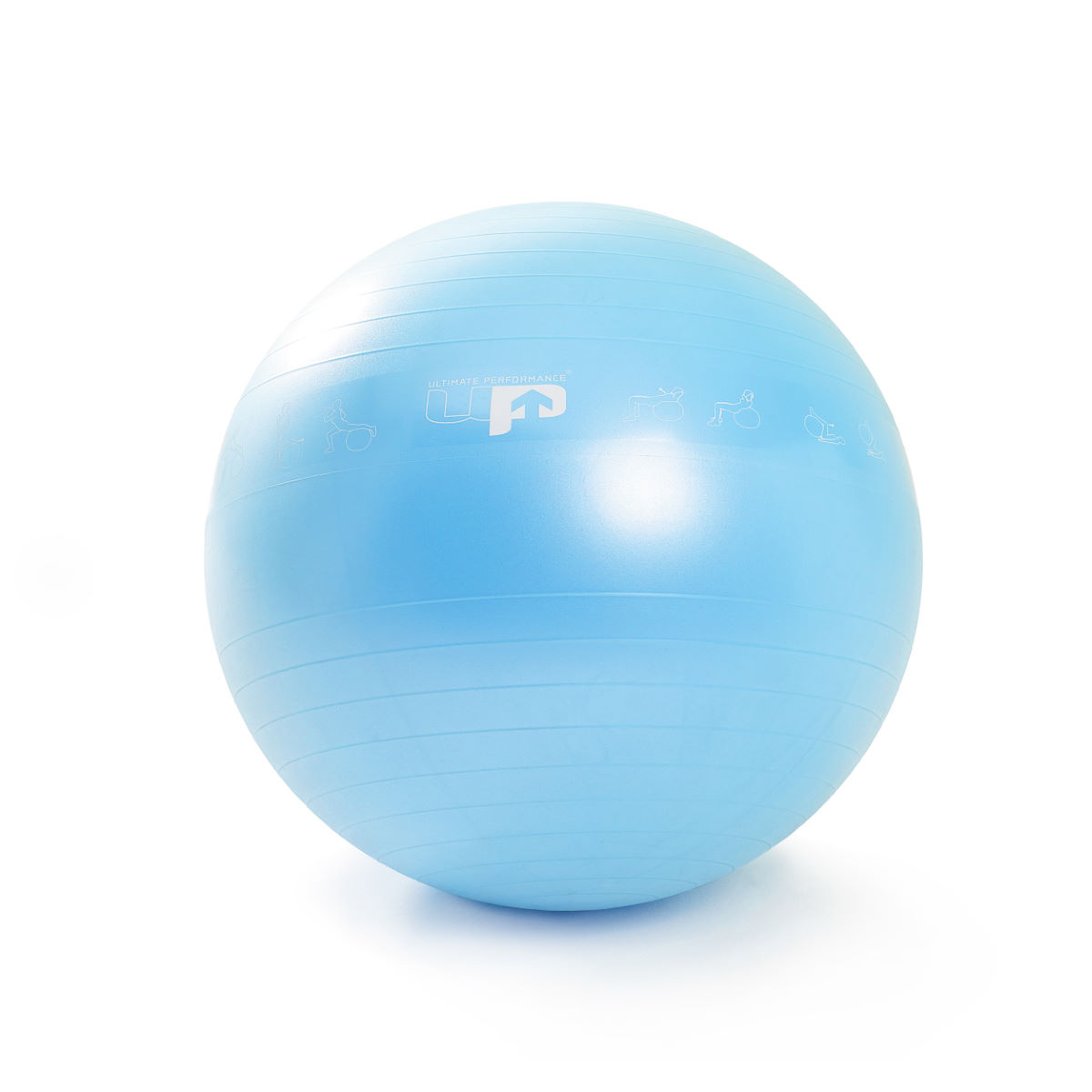 Image of Balle de gym Ultimate Performance (55 cm) - 55cm Bleu | Balles de gym