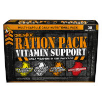 Grenade Ration Pack Vitamin Support (120 capsules)