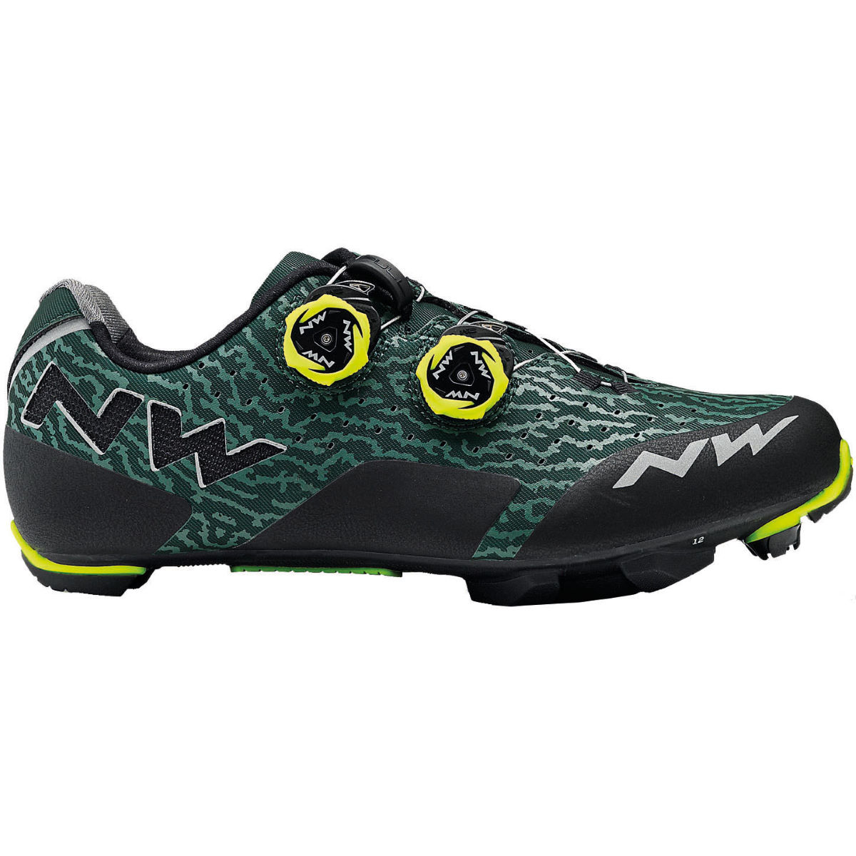Northwave rebel shoes internal green gables yellow 2018 nws80182042 67 39