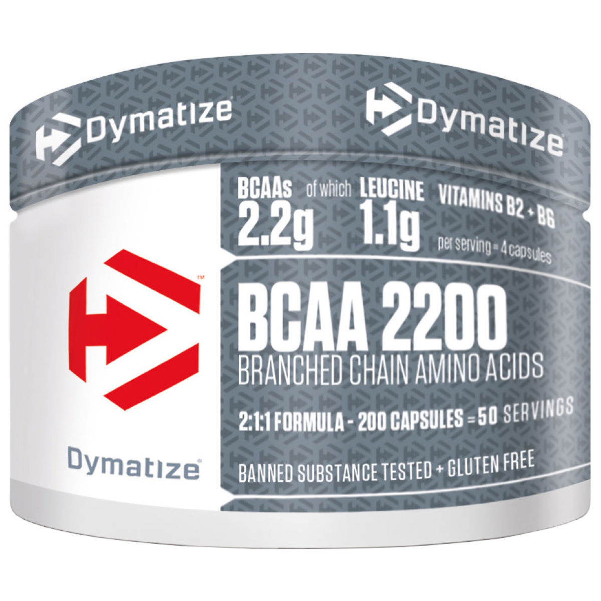 Image of Capsules Dymatize BCAA 2200 (200) - 200 Capsules Unflavoured | BCAA