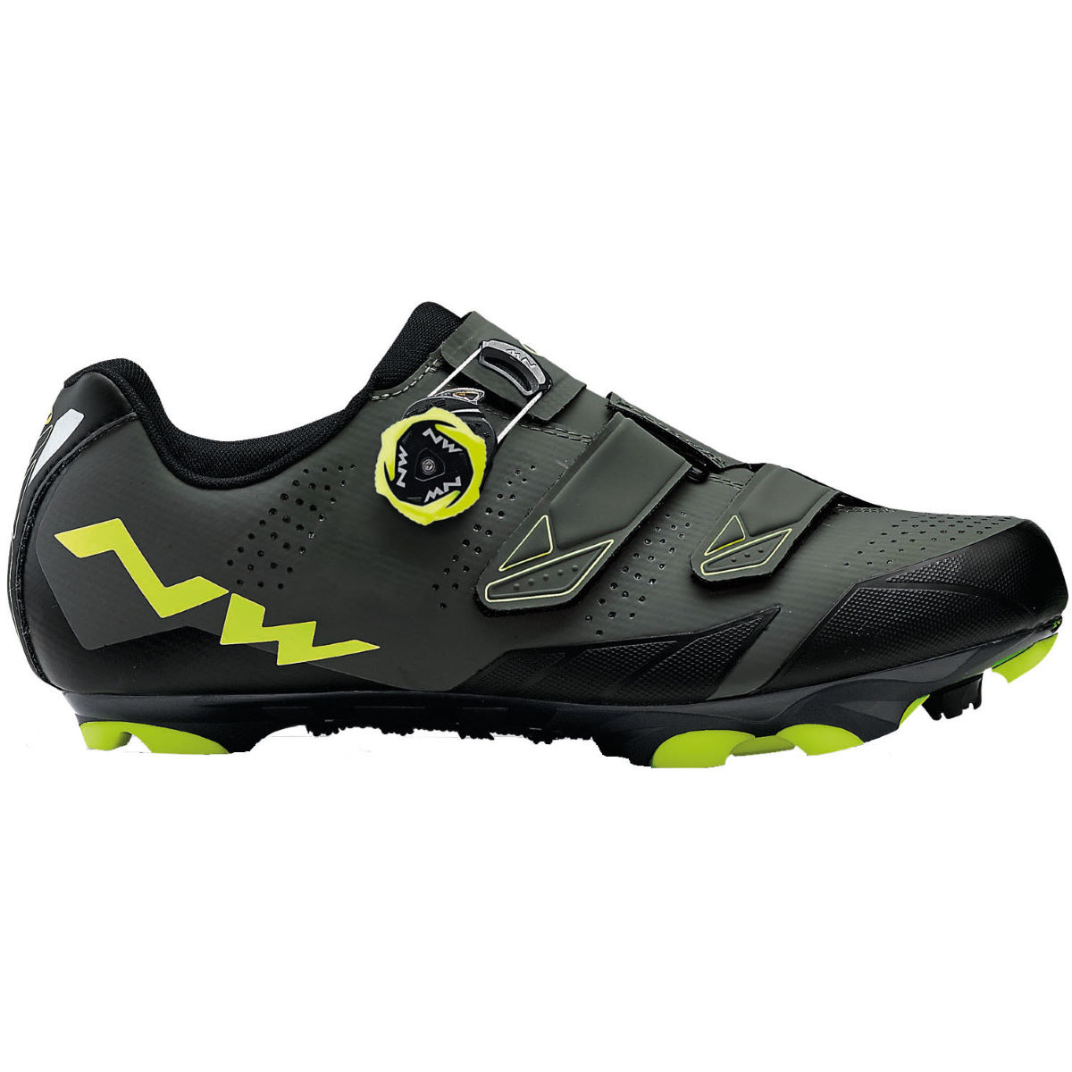 Northwave Scream 2 Plus MTB Schuhe - 42 Black/Grey/Yellow Fl