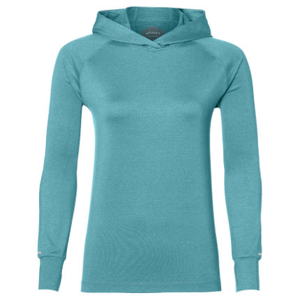 release date retro utterly stylish Asics Women's Thermopolis LS Hoodie