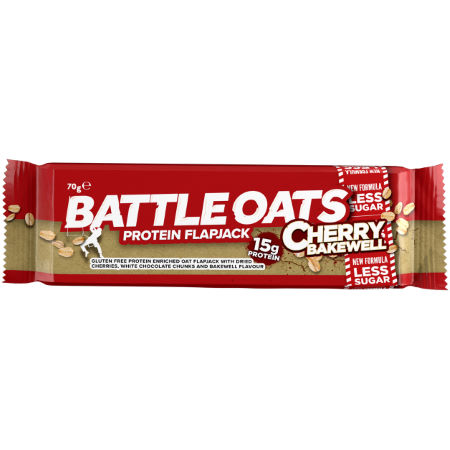 Barritas flapjack Battle Oats (12 x 70g)