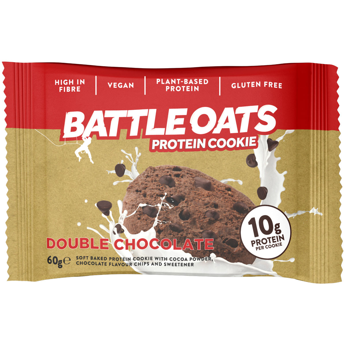 Image of Cookies Battle Oats (12 x 60 g) - 12 x 60g Double Chocolate | En-cas