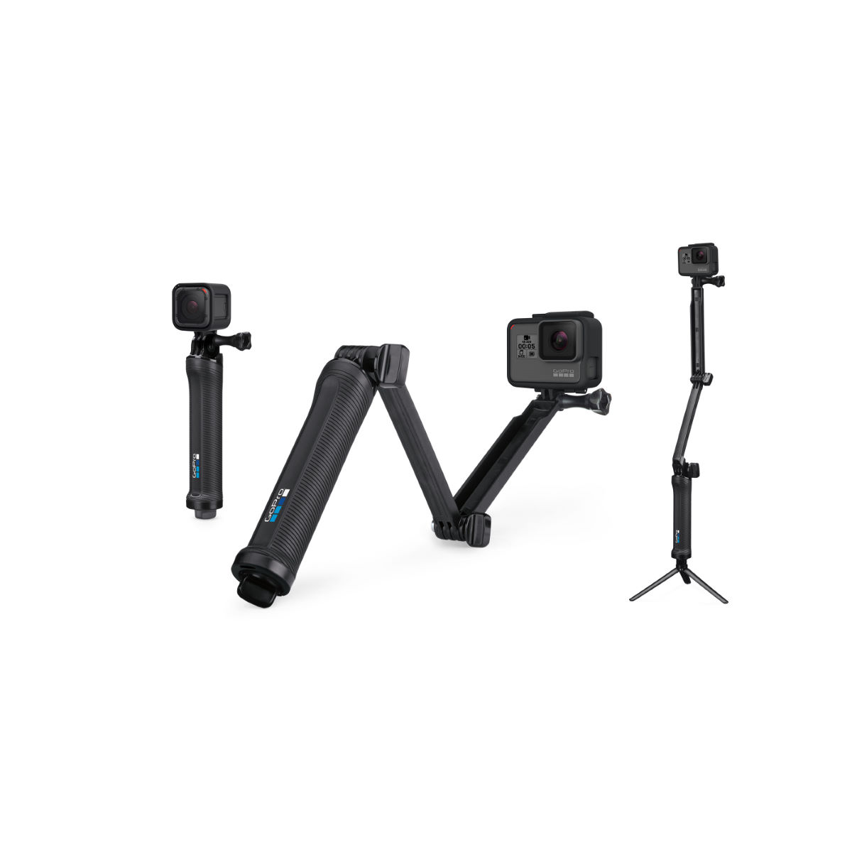 GoPro 3-Way - Cámaras digitales para cascos