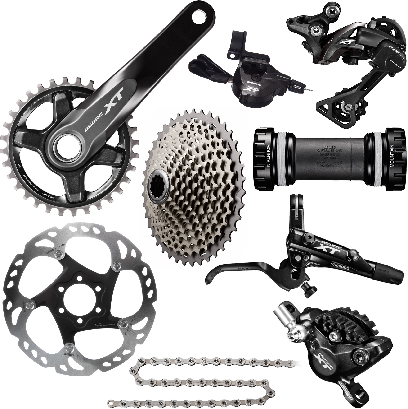 2d06a394589 Wiggle | Shimano XT M8000 1x11 Complete Groupset | Groupsets