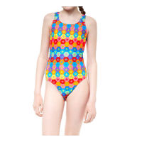 Maru Girls Superstars Pacer Rave Back Swimsuit