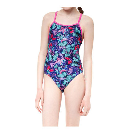 Maru Girl's Farfalla Fly Back Swimsuit