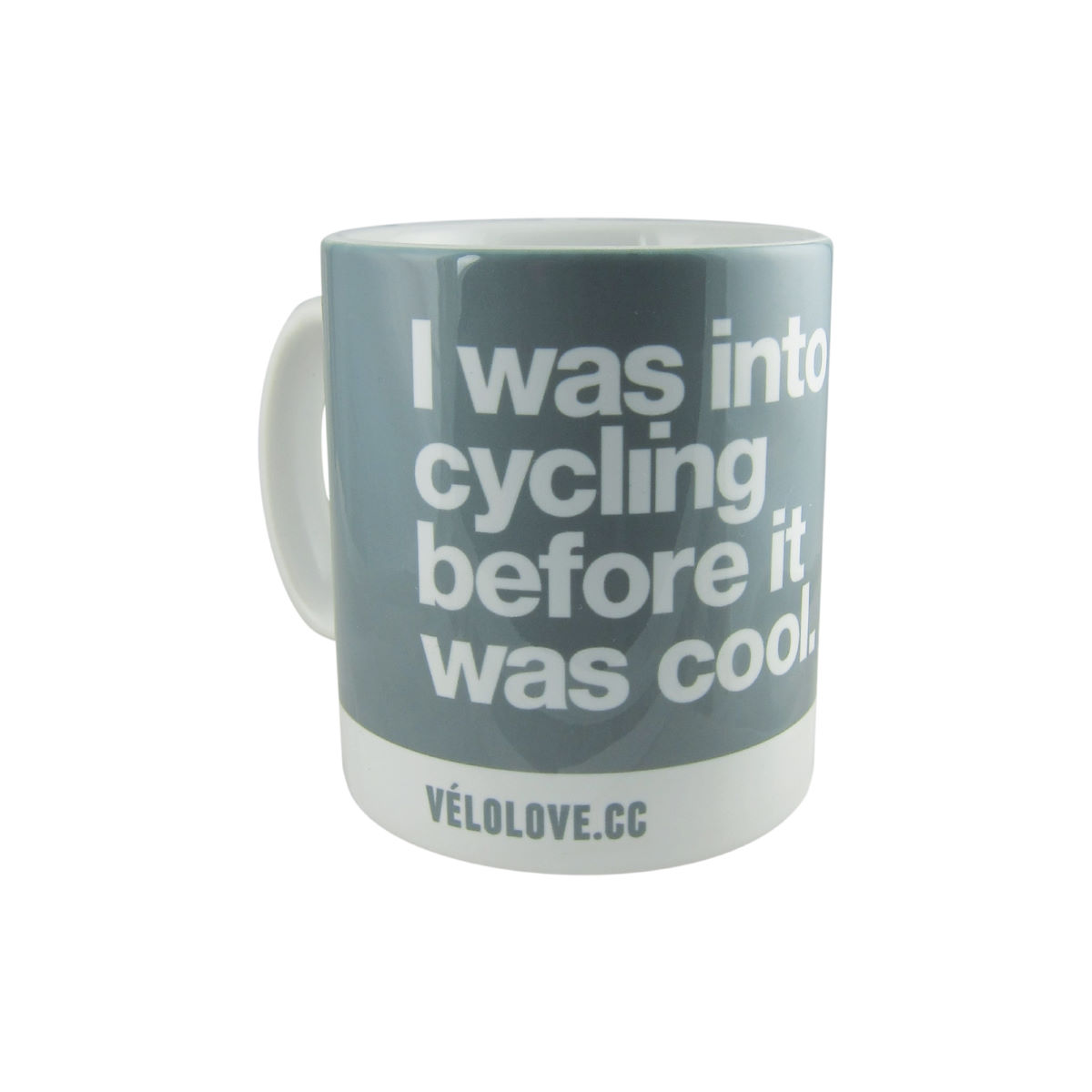 Image of Tasse Velolove I was into cycling before it was cool - Taille unique