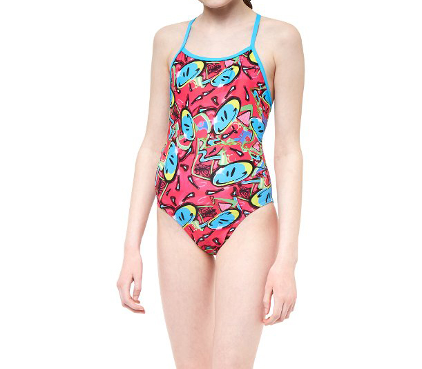Maru Girl's Bounce Pacer Fly Back Swimsuit | swim_clothes
