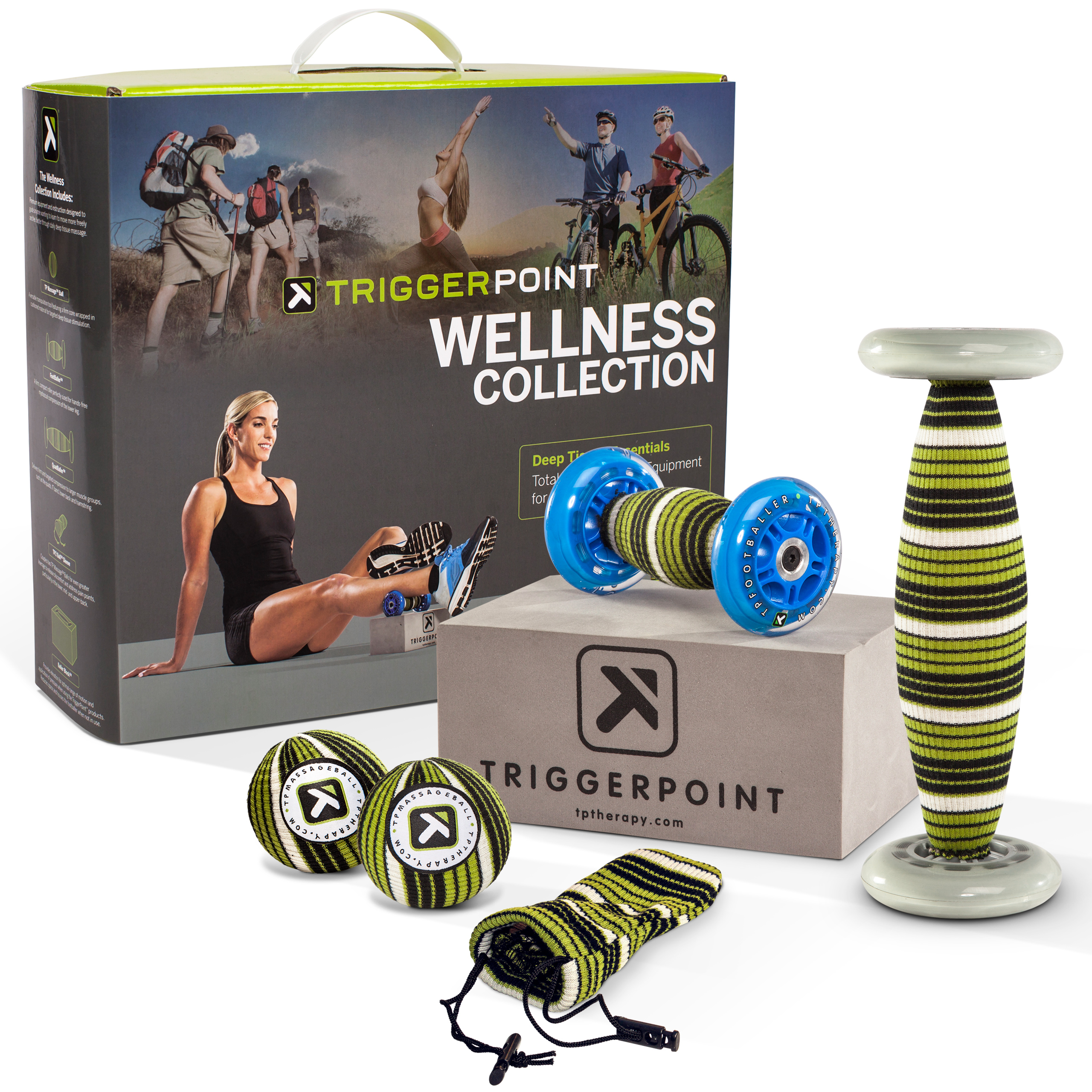 Trigger Point Wellness Kit | Træningsmåtter og svedcover