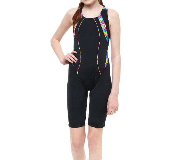 Maru Girl's Psychedelic Pacer Legsuit | swim_clothes
