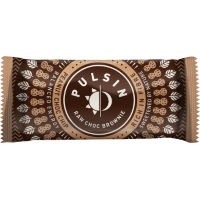 Pulsin Raw Chocolate Brownine Energibarer (18 x 50g)