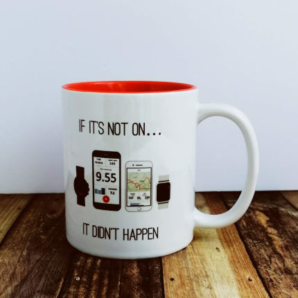 Worry Less Designs Activity Tracker Mug