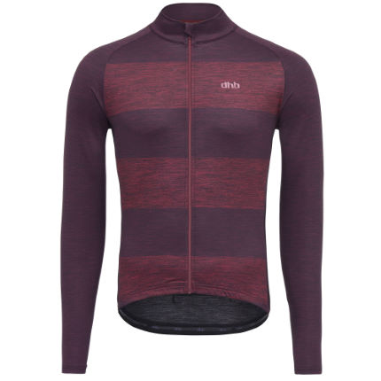 dhb Classic Long Sleeve Jersey - Bold Stripe
