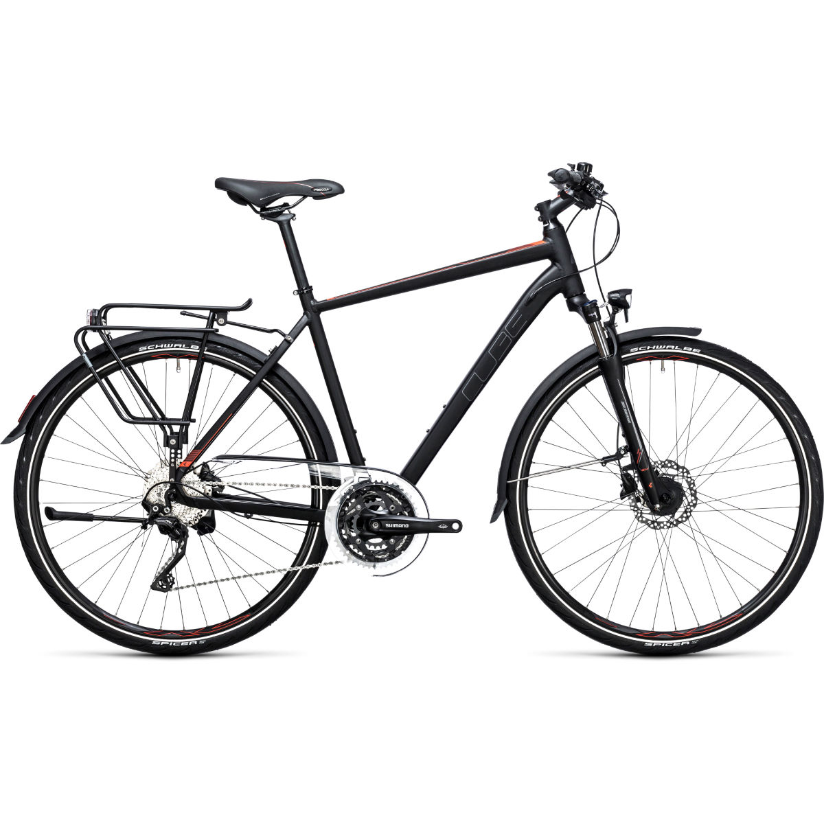 Cube Touring SL City Bike - Audax bicycles / bicycle touring