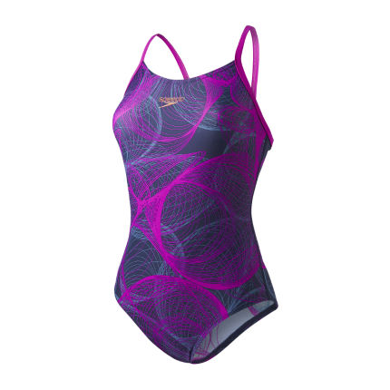 Speedo Women's Cyclone Thinstrap Muscleback Swimsuit