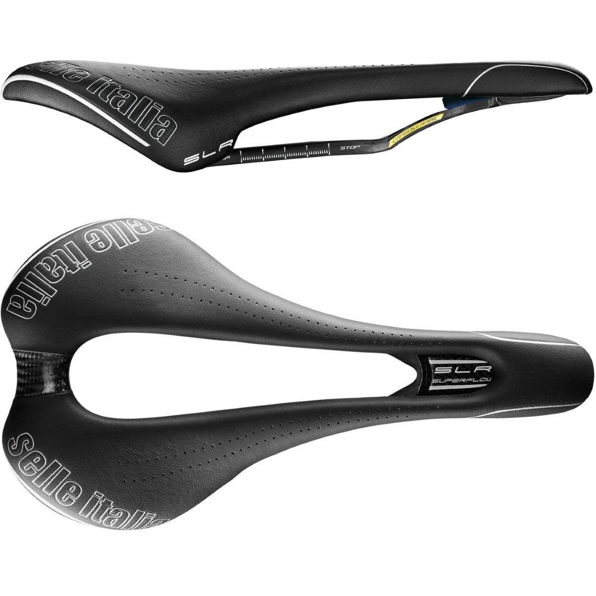 Sillín Selle Italia SLR Kit Carbonio Superflow - Sillines de competición