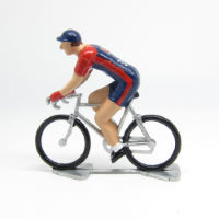 Cycling Souvenirs Mini Cyclist USA Jersey Prydnadscyklist
