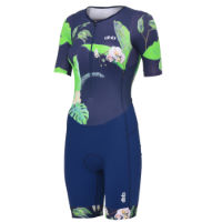 dhb Blok Womens Short Sleeve Tri Suit - Floral