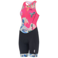 dhb Blok Womens Sleeveless Tri Suit - Wave
