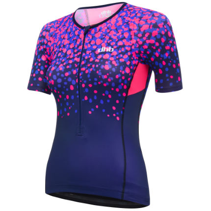 dhb Blok Women's Tri Short Sleeve Top - Blossom