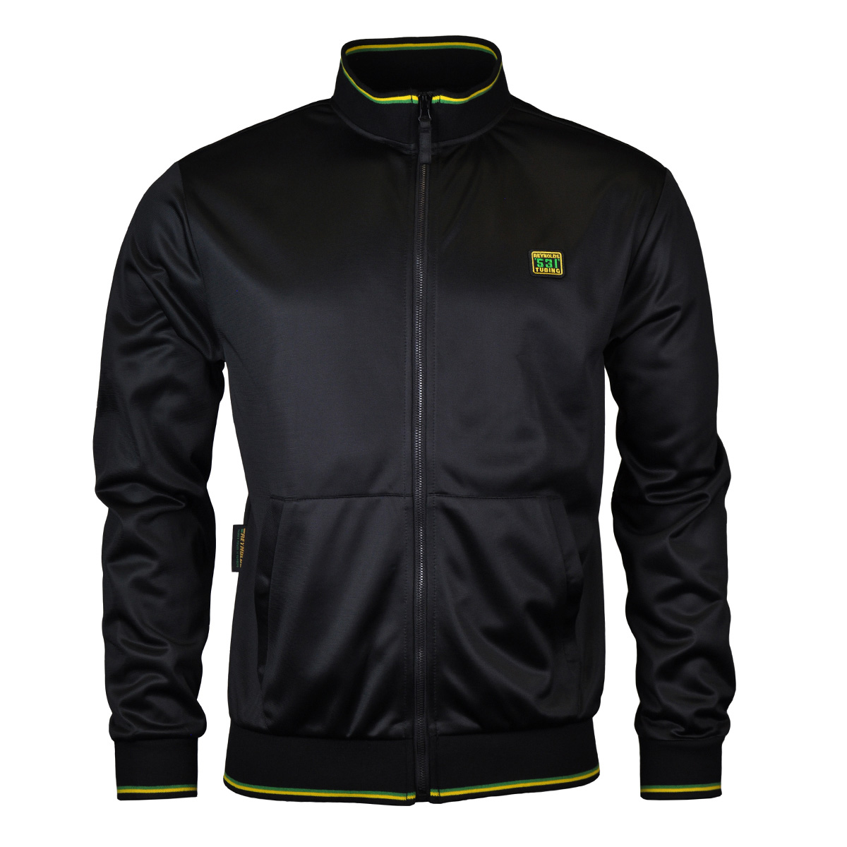 Reynolds Clothing 531 Tipped Full Zip Track Top   Jackets