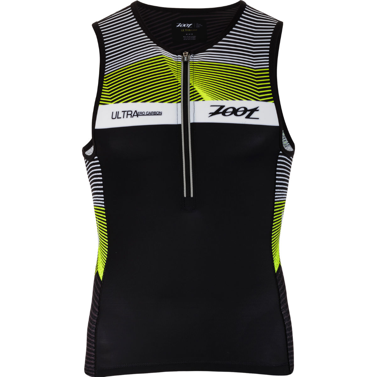 Image of Débardeur de triathlon Zoot Ultra - S Black/Multi | Hauts de triathlon