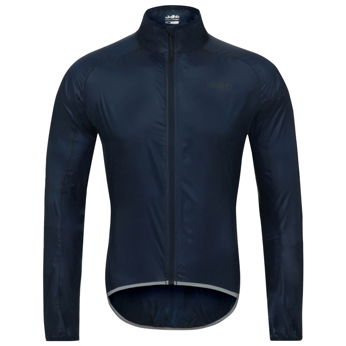 Dhb aeron packable jacket cycling windproof jackets navy aw17 tw0489xl56