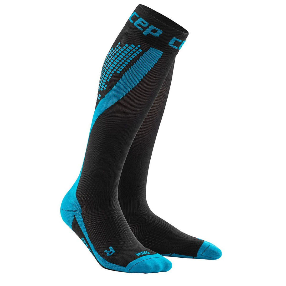 Cep nighttech socks internal blue reflective wp5l332 0