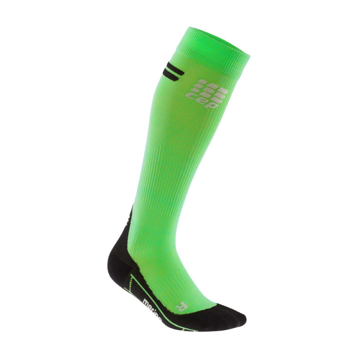 Image of Chaussettes de running à compression Femme CEP Merino - III