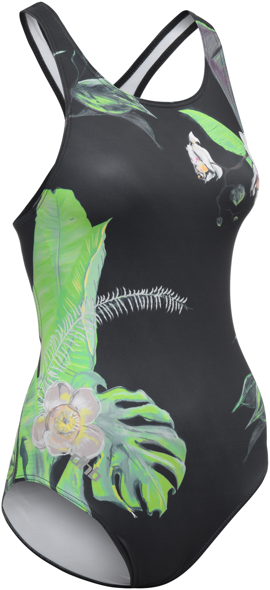 dhb Blok Women's Muscleback Swimsuit - Floral | swim_clothes