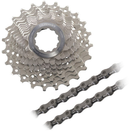 Shimano Ultegra 10sp Cassette and Chain Bundle (11-28)