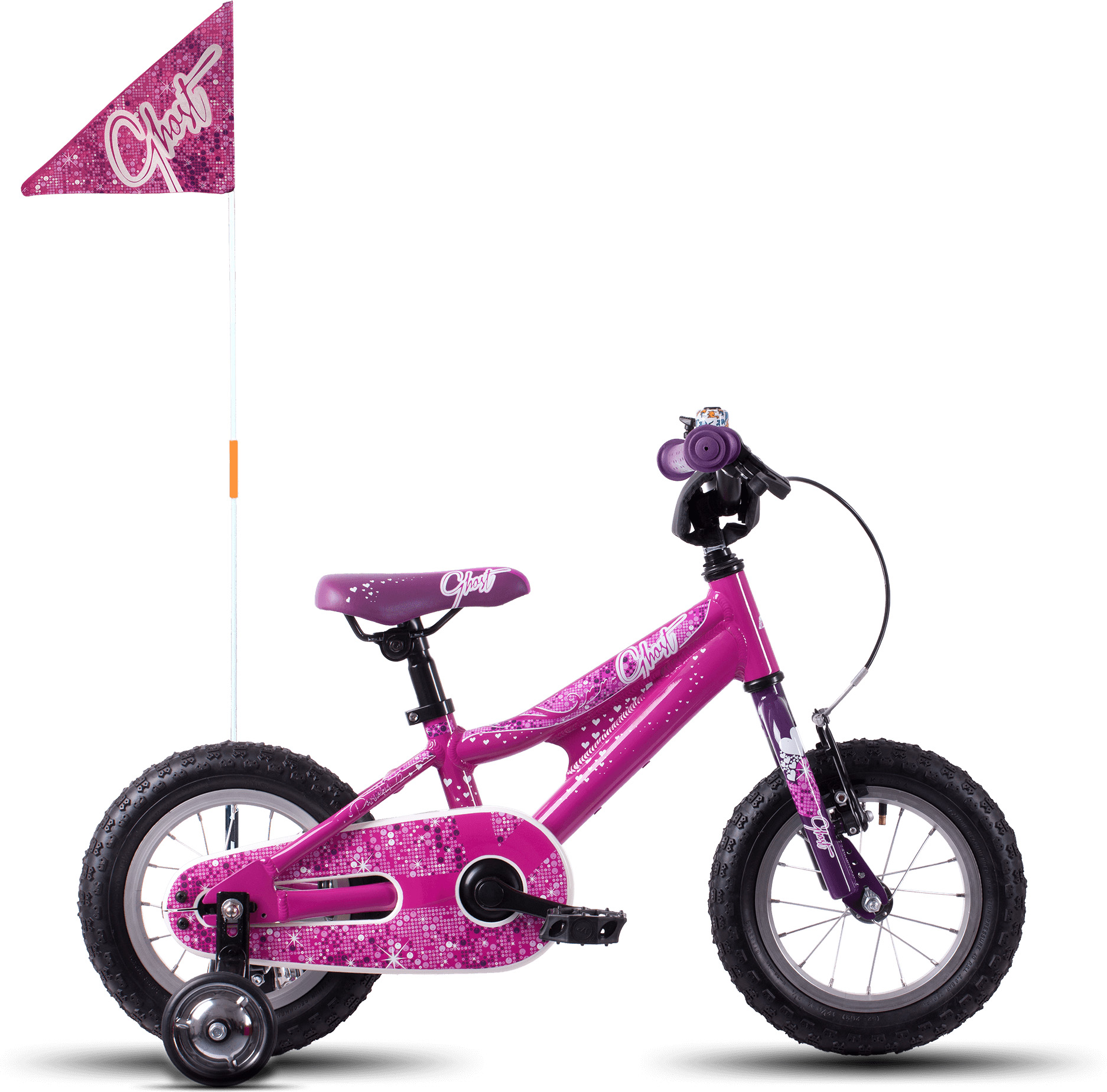 "Ghost Powerkid 12"" Girls (2018) Bike 