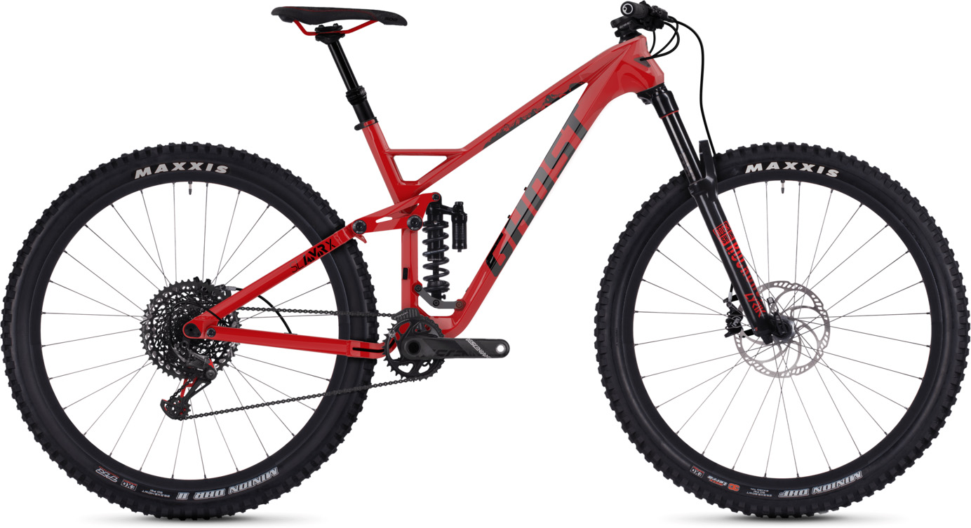 "Ghost Slamr X7.9 29"" Full Suspension Bike 