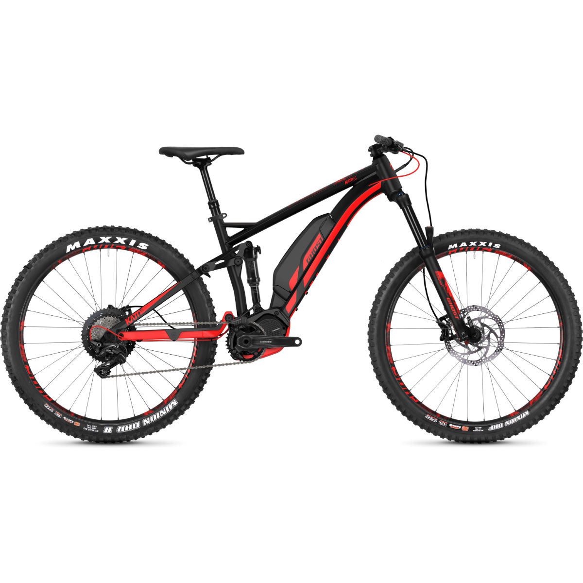 "Ghost Kato S4.7+ 27.5""+Full Suspension E-Bike - Bicicletas eléctricas de montaña"