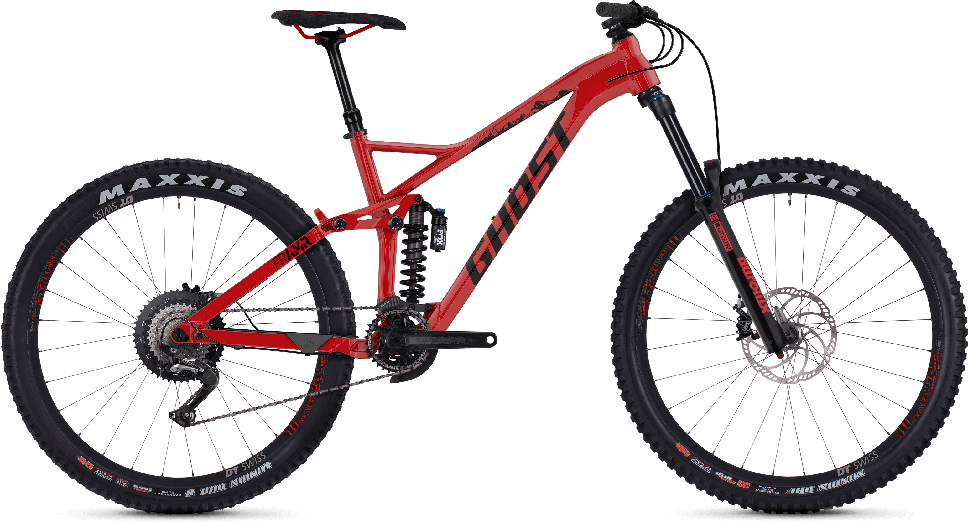 "Ghost Fr Amr 4.7 27.5"" Full Suspension Bike 
