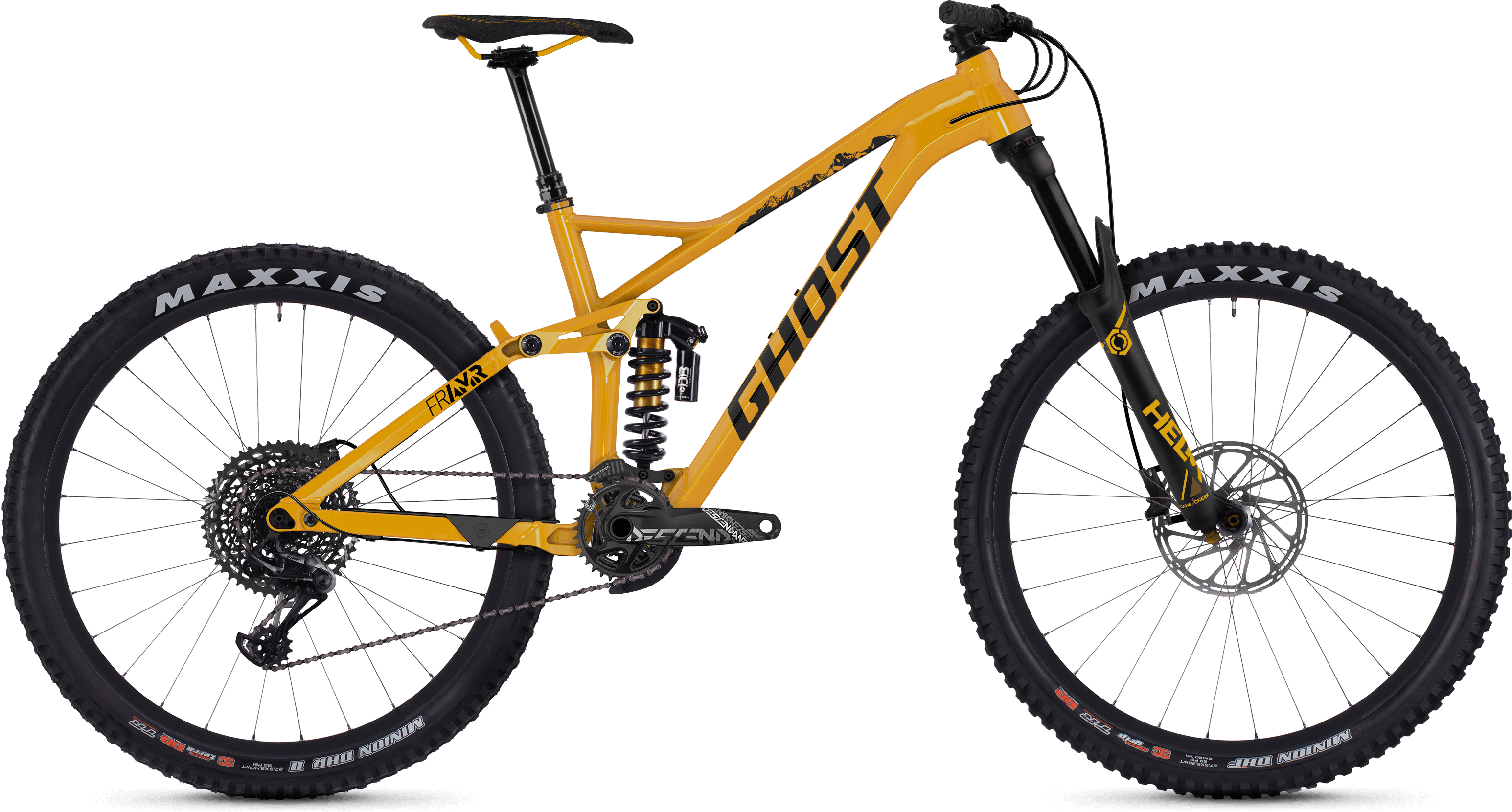 Ghost FR AMR 8.7 Fuldaffjedret mountainbike (2019) - Herre | Mountainbikes