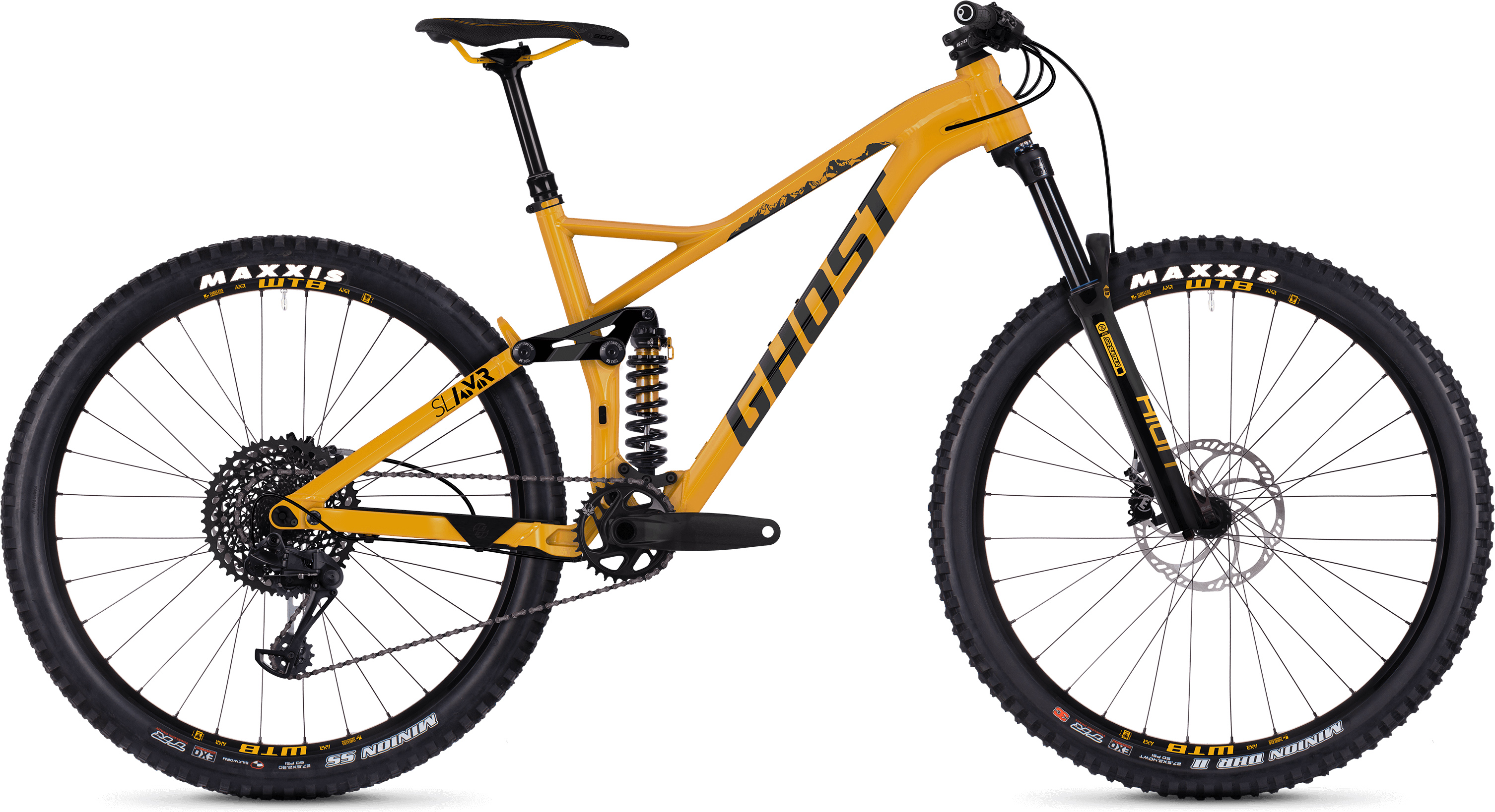 "Ghost Slamr 4.7 27.5"" Full Suspension Bike 