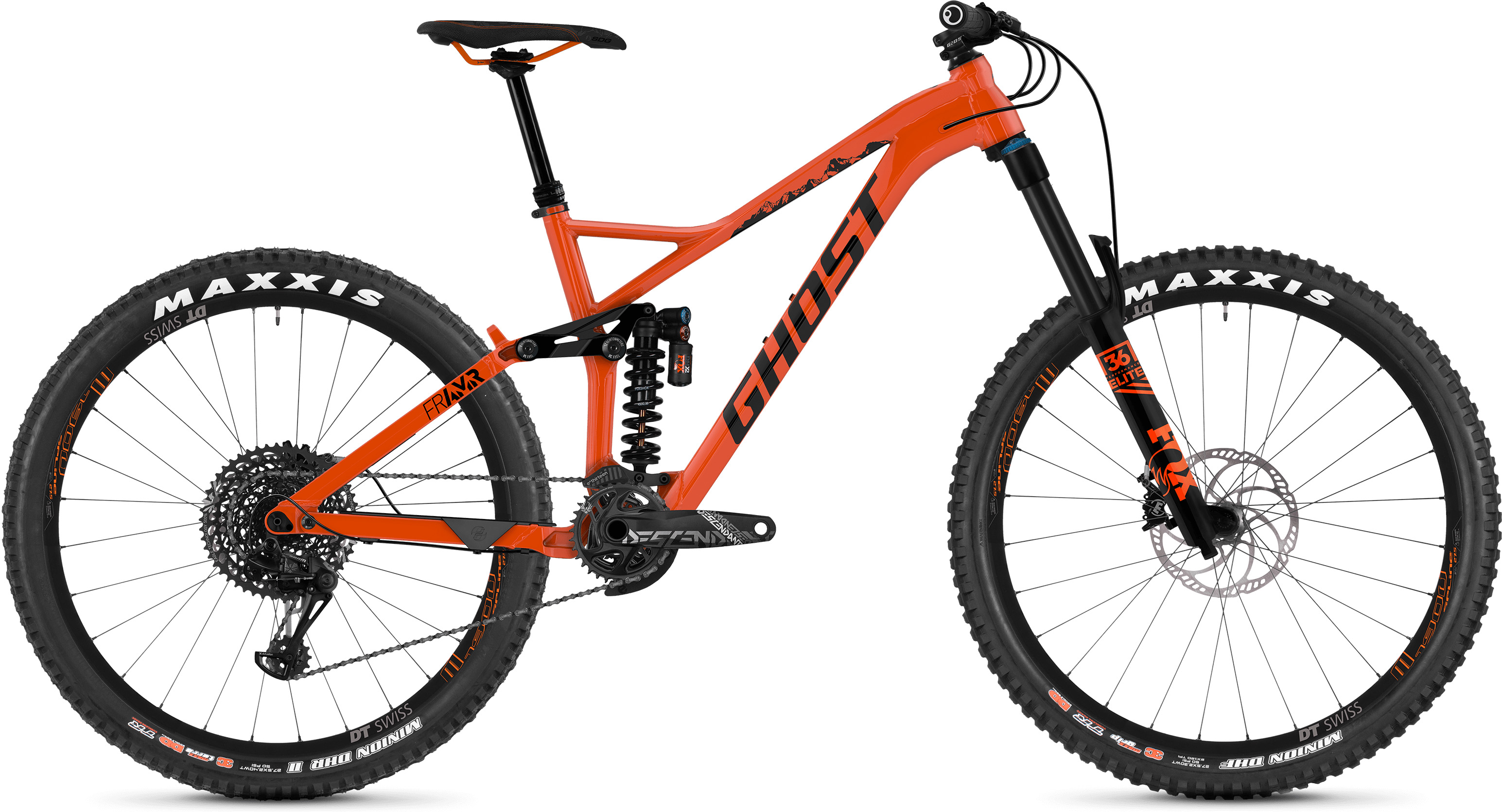 Ghost FR AMR 6.7 Fuldaffjedret mountainbike (2019) - Herre | Mountainbikes
