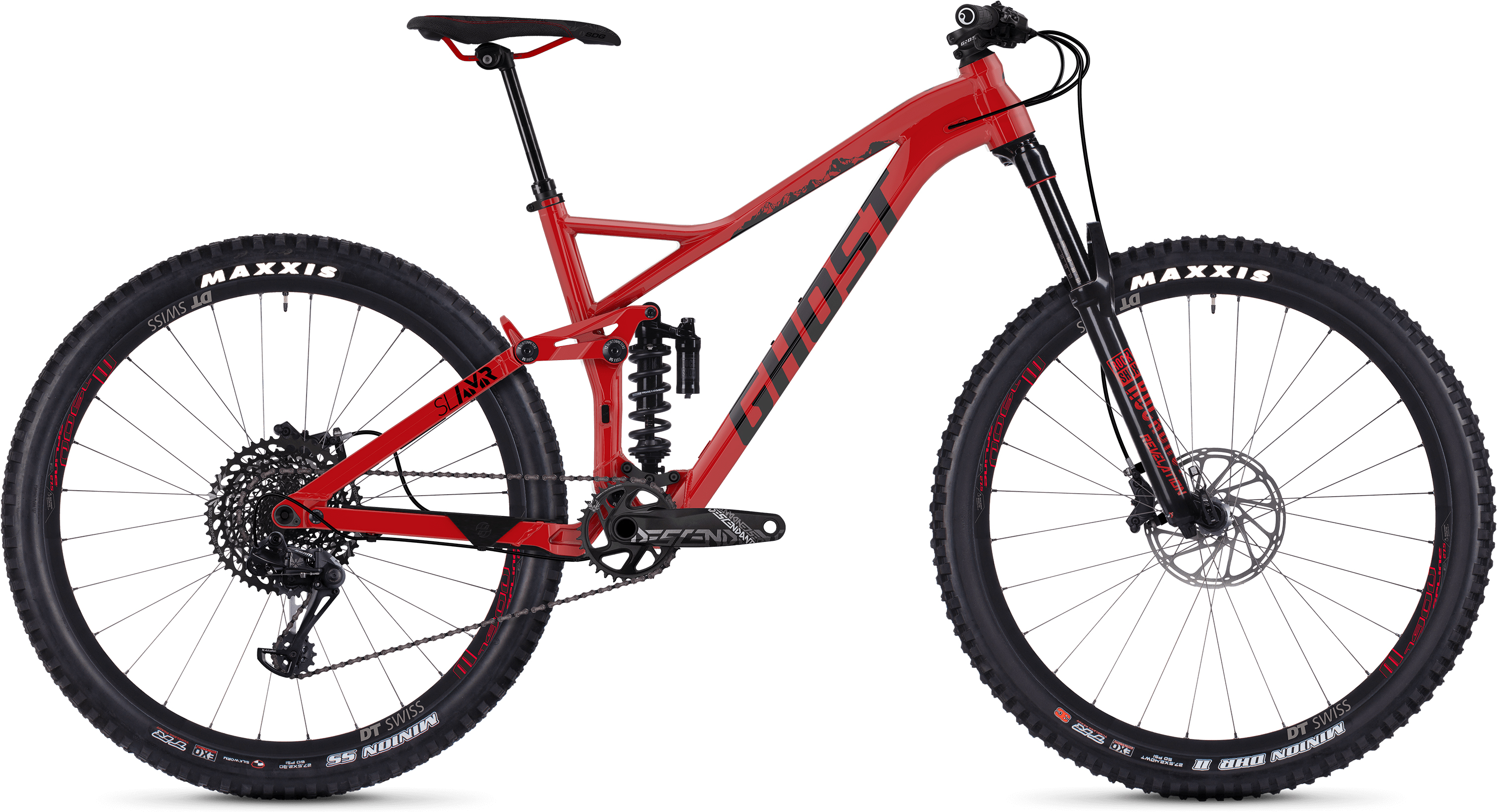 Ghost SL AMR 6.7 Fuldaffjedret mountainbike (2019) - Herre | Mountainbikes