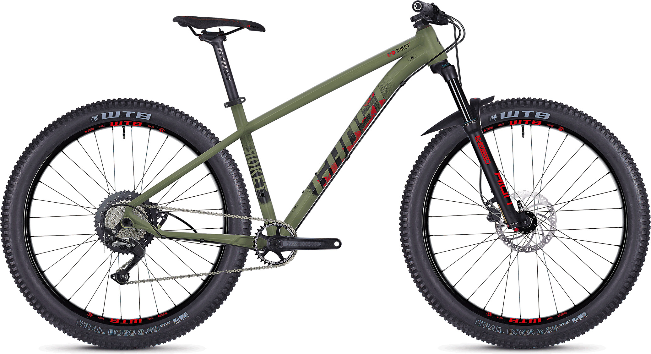 Ghost Roket 5.7+ Hardtail mountainbike (2019) - Herre | Mountainbikes
