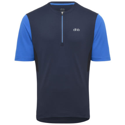 dhb 1/2 Zip Short Sleeve Trail Jersey