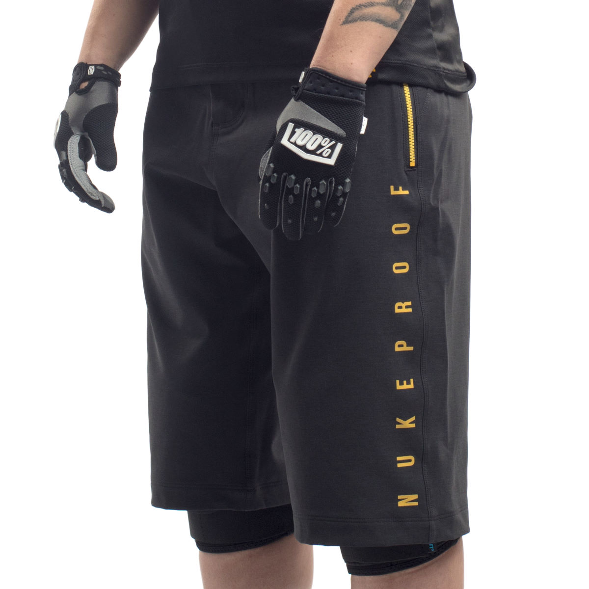 Nukeproof Nukeproof Blackline Womens Shorts - Black   Baggy Shorts