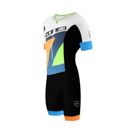 Zone3 Men's Lava Long Distance Short Sleeve Aero suit